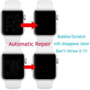 Image 2 - 9D hidrojel Film tam kenar koruyucu kapak iwatch için 4/5/6/SE 40mm 44mm ekran koruyucu Apple için İzle serisi 2/3 38mm 42mm