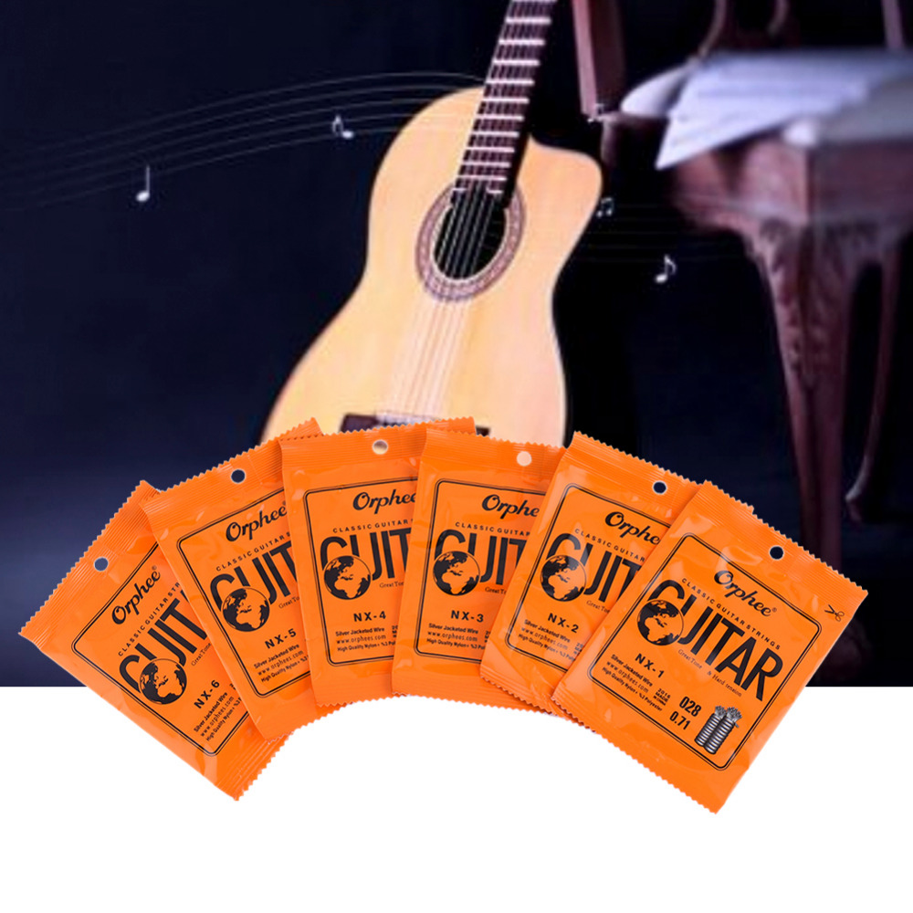 Classic Guitar Strings Guitar Part Musical Instruments Accessories Single-String Series(Color Plastic Bag Seal)Support Wholesale