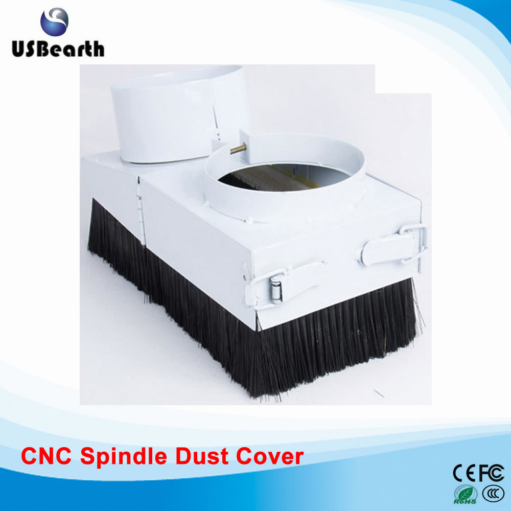 80mm Spindle dust cover for CNC machine with 1.5KW and 2.2KW spindle motor, also have 65mm/ 90mm/ 100mm/ 105mm/ 125mm dust cover for cnc machine dust proof height 200mm