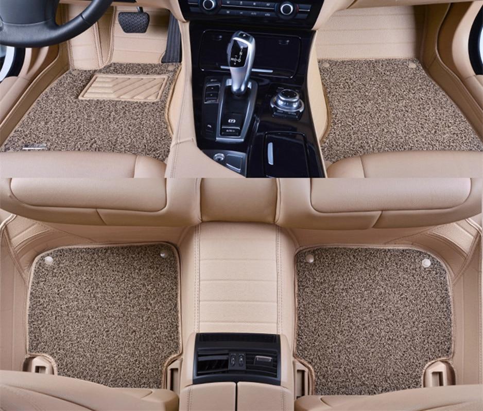 Universal Fit Rubber-Carpet Heavy-Duty Washable Car Mat Hyundai IX35 Santa Fe