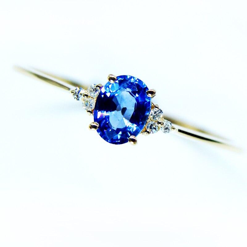 0 4 Carat Sri Lanka Sapphire Lnatural Sapphire Ring 18k
