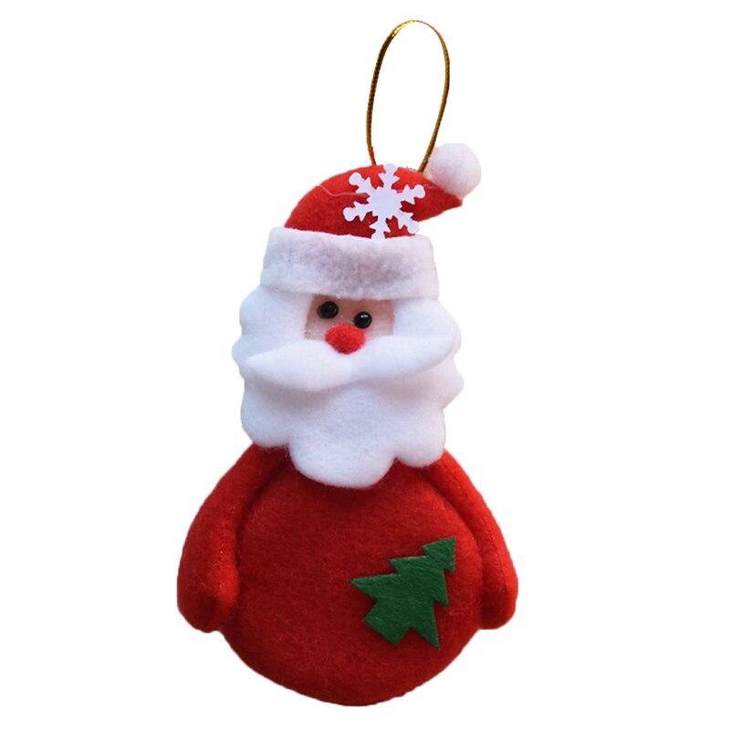 Deer Snowman Pendant Chrismas Tree Christmas Gift Santa Claus ...