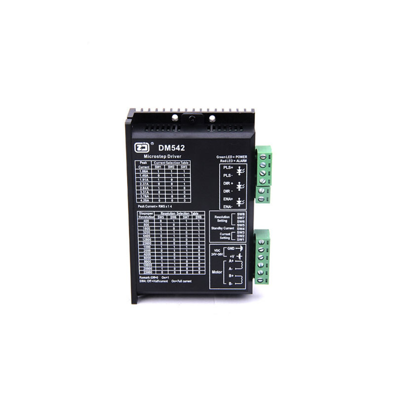Leadshine 2 Phase Analog Stepper Driver M542 Max 50 VDC 4.2A for Stepper Motor NEMA 23 leadshine stepper motor driver 3dm 683 3 phase digital stepper drive max 60vac 8 3a
