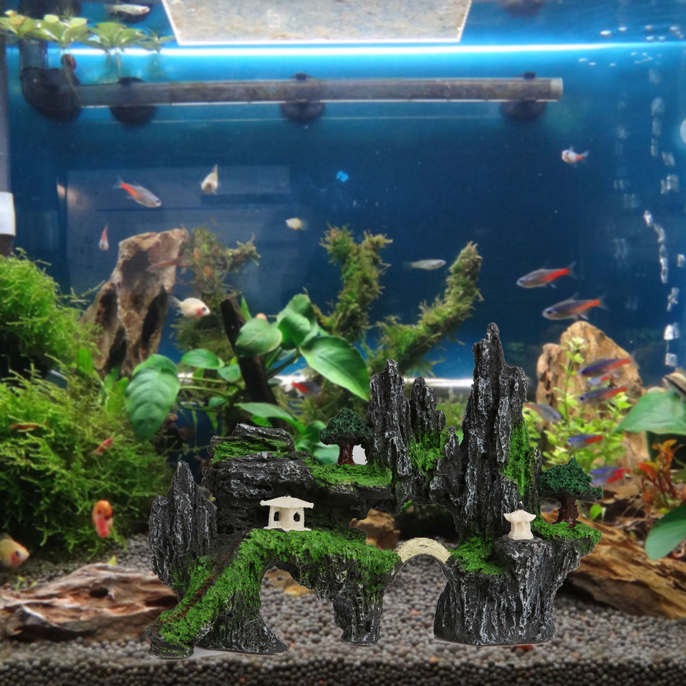 Mario Brothers Aquarium Decorations Compare Prices On Mountain View Online Shopping Buy Low Price