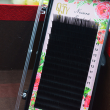 QSTY,16Rows,Faux mink individual eyelash extension, cilia lashes extension for professionals,soft mink eyelash extension