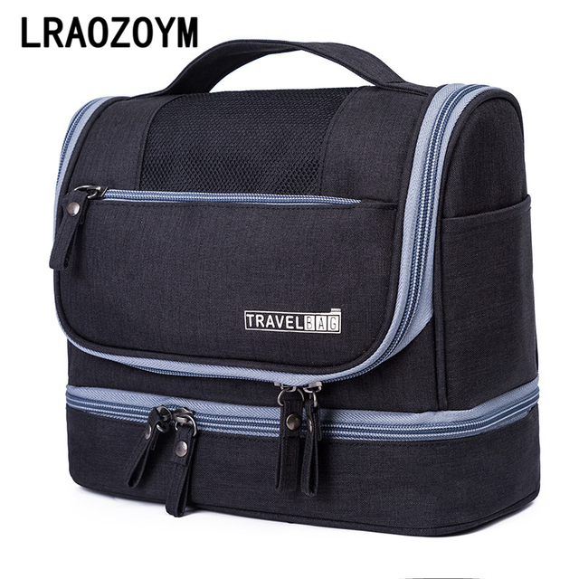 877ca896bb LRAOZOYM Oxford Cloth Storage Bag Portable Women Travel Make Up Cosmetic  Pouch Luggage Packing Cubes Wholesale Accessories