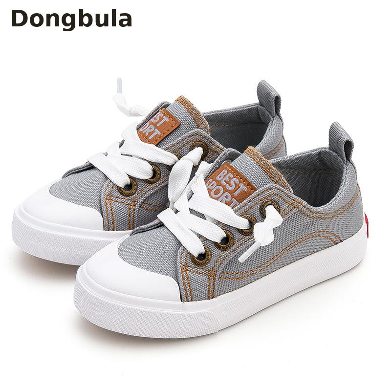 Girls New Childrens Canvas Shoes Kids Sports Shoes Candy Color Girls Shoes Slip On Loafers Lattice Baby School Shoes Casual Boys Flats