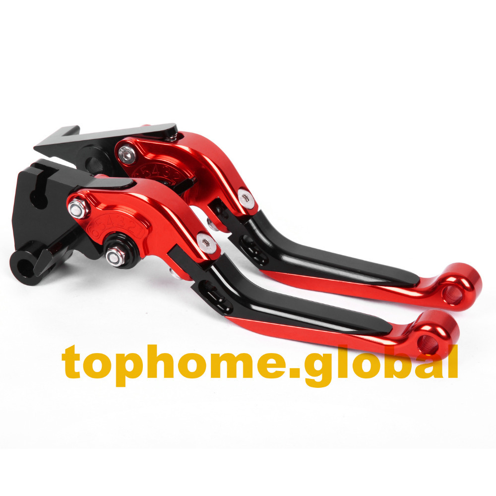 CNC Folding&Extending Brake Clutch Levers For Honda RC51 / RVT1000 SP-1/SP-2 2000-2006 2001 2002 2003 2004 2005 2006 adjustable billet short folding brake clutch levers for honda xl 1000 varadero 2001 2002 2003 2004 2005 06 07 08 09 10 11 12 13