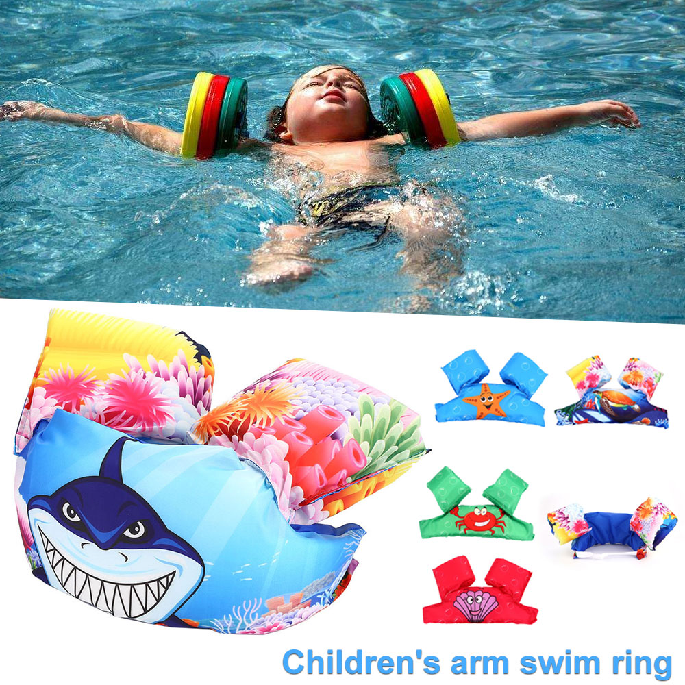 2018 Baby Swim Ring Armlets Kids Arm Float Sleeves Inflatable Swimming Pool Accessories For Baby Swimming Circle Float Ring high quality swimming pool baby swimming pools eco friendly pvc baby inflatable swim accessories water swim float necessaries