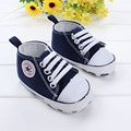 2017 Spring candy color baby first walkers boys sneakers girls crib shoes infant baby canvas shoes