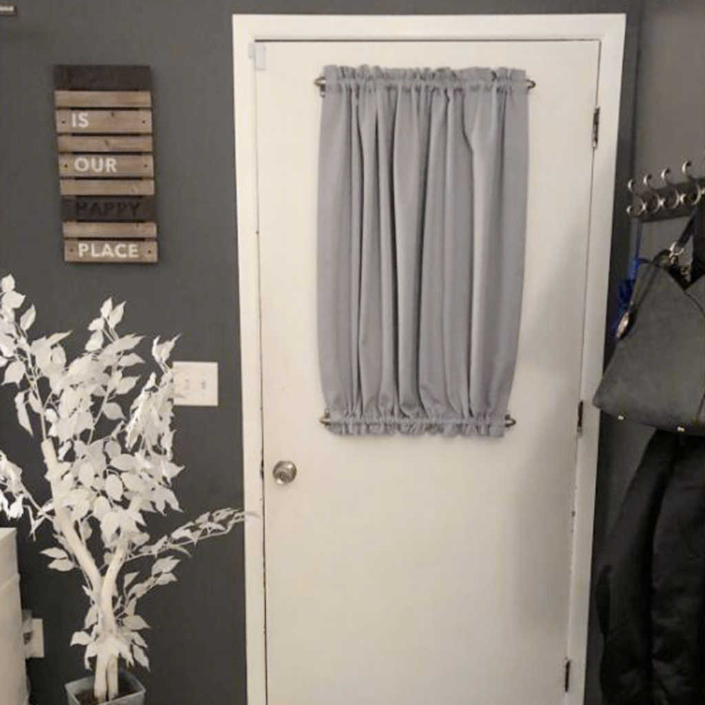 French Door Curtain Thermal Insulated