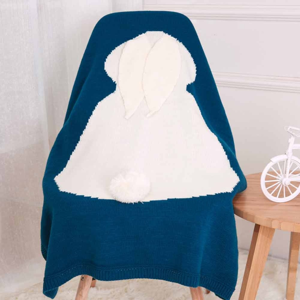 Baby Blanket Kids Winter Spring Soft Cotton Blankets Newborn Baby Swaddle Sleeping Bed Hole Wrap Children Bedding Bath Towels | Happy Baby Mama