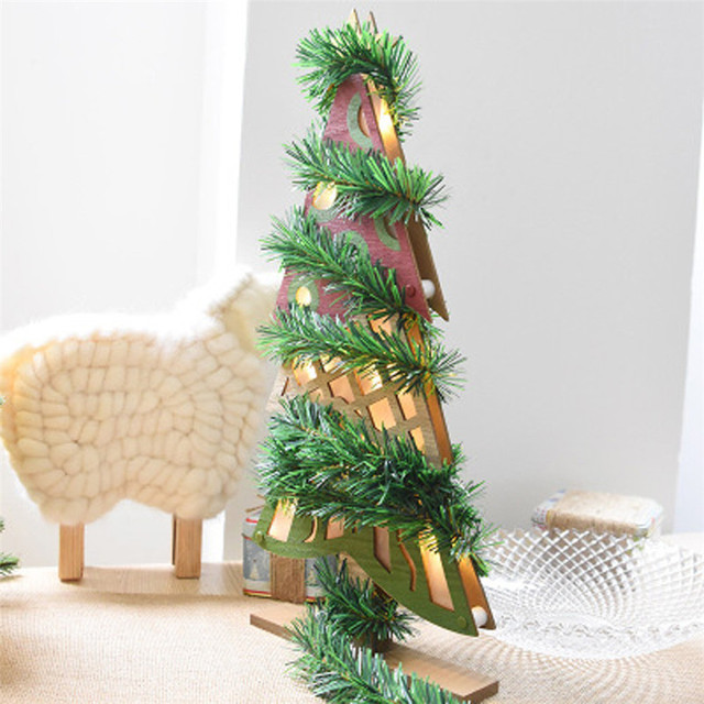 5.5M Christmas Party Xmas Tree Leaves Ornaments Tinsel Hanging Decorations  #30 Drop