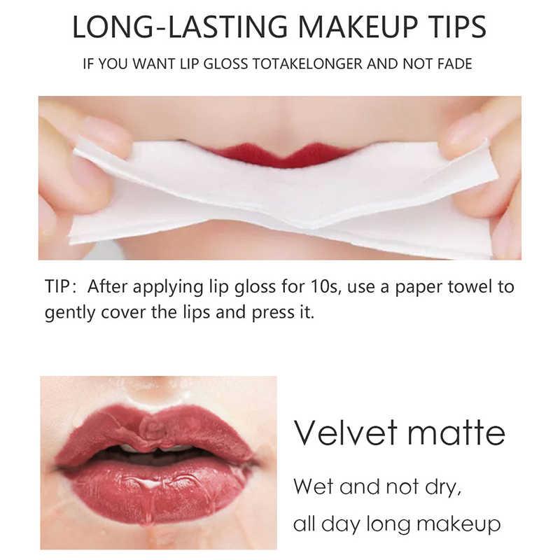 Lápiz labial mate a prueba de agua MIXDAIR para maquillaje de labios lápiz labial desnudo Sexy lápiz labial de larga duración mate maquillaje belleza cosméticos