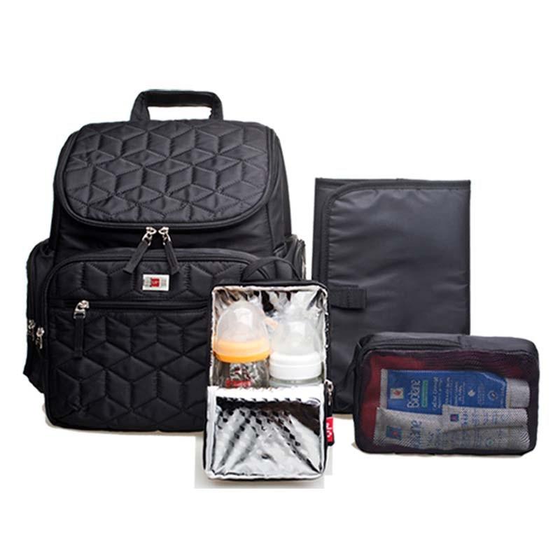 Brand High-Quality Bolsa Maternidade Baby Diaper Bags Baby Nappy Bags Mummy Maternity Bag Shoulder Backpack