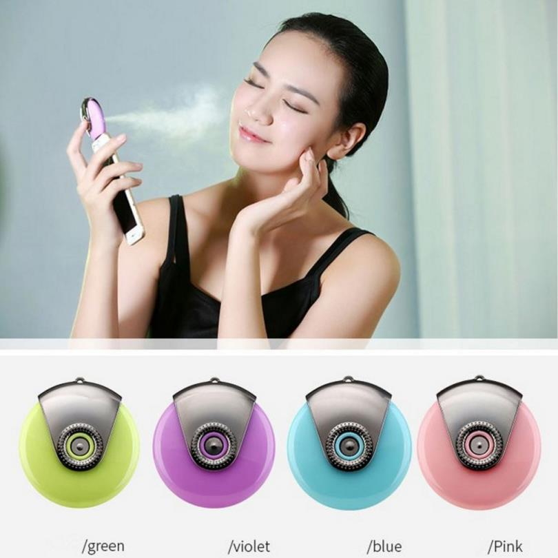 Mini phone Humidifier Aromatherapy essential oil diffuser and Mist Maker Fogger Beauty replenishment for Andrews and