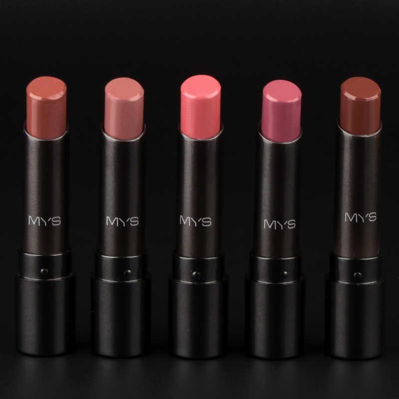 2016 yeni varış MYS marka güzellik dal mehr mat ruj uzun ömürlü tonu dudaklar kozmetik dudak parlatıcısı maquiagem makyaj batom