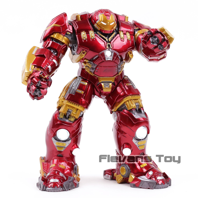Marvel Avengers Age of Ultron Mark 44 Hulkbuster with LED Light PVC Action Figure Collectible Model Toy цена