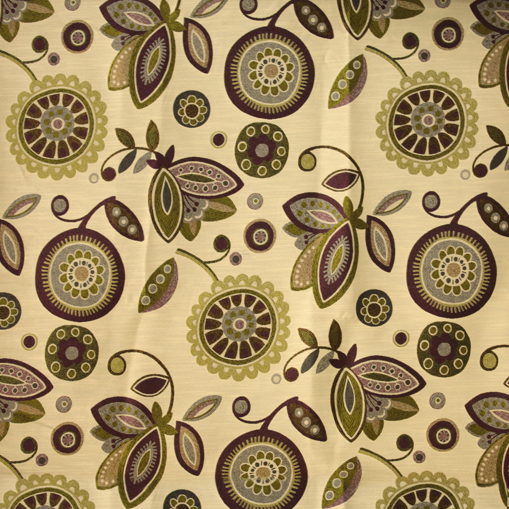 Bon 1 Yard Beige NIce Touch Feeling Fabric Curtain Bed Sheets Fabric Material  Polyester Rayon Sunflower Pattern Knit Jacquard Fabric In Fabric From Home  ...