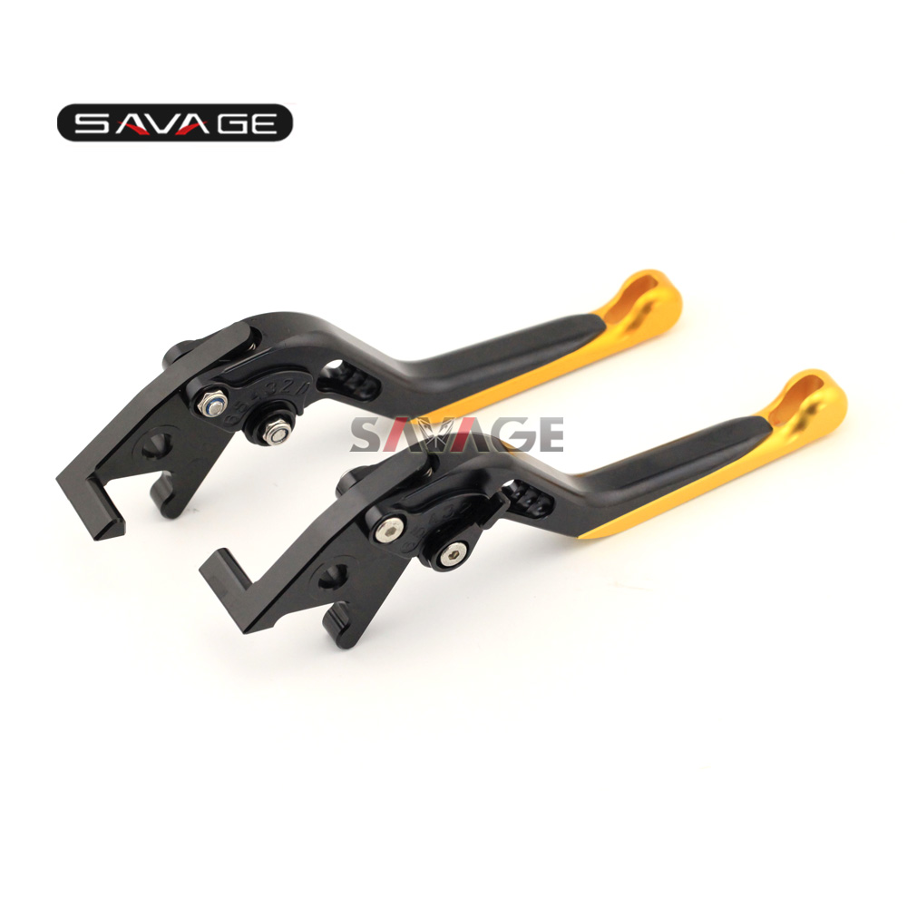 For SYM Citycom 300i 2014-2015 Motorcycle CNC Aluminum Extendable Front/Rear Brake Lever Extending