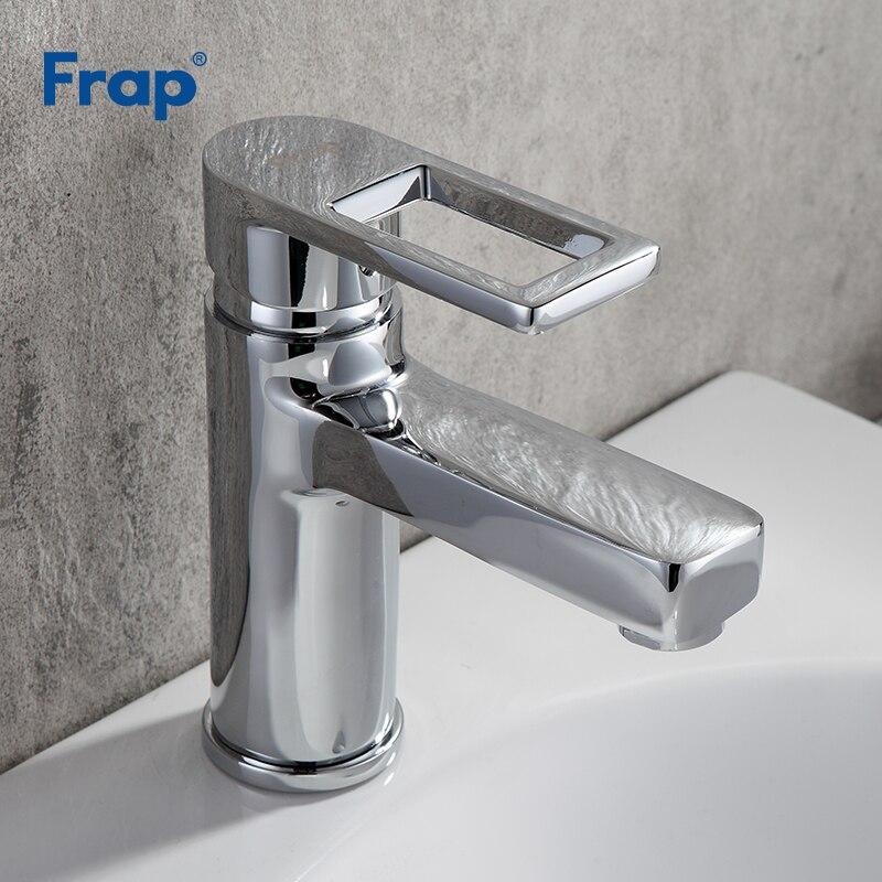 Frap laiton répandu salle de bains bassin robinet cascade bain évier mélangeur robinet lavabo robinet eau chaude et froide robinets grifo F1072