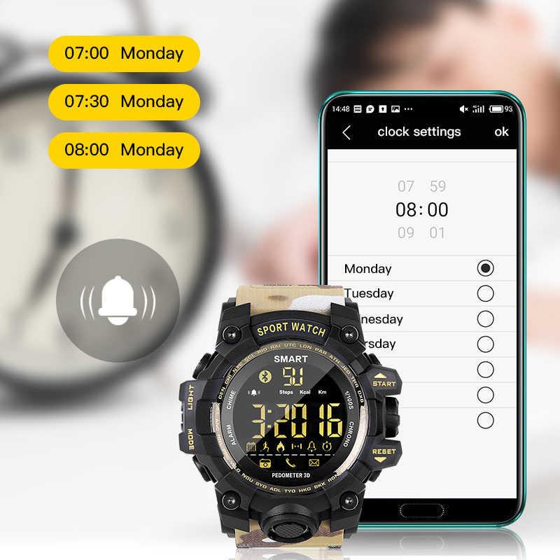 c5cb45f2ba7 ... SENBONO Smart Watch EX16S 5ATM Waterproof smartwatch Remote Control  Fitness tracker Bluetooth Activity Tracker Sports Watches ...