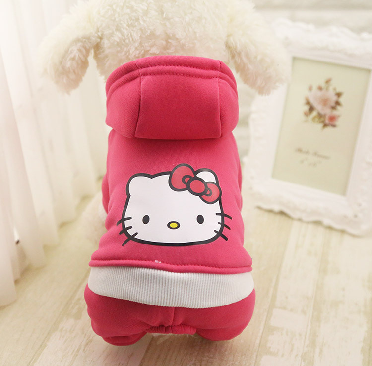 Free Shipping 100% Cotton Dogs Clothes Hoodie Jumpsuit Four Leg Clothing For Dogs Pet Do ...