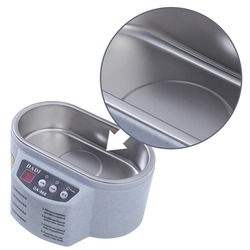 Exquisite ultradźwiękowa ultradźwiękowa ultradźwiękowa ultradźwiękowa jednostka do mycia biżuterii ze stali nierdzewnej