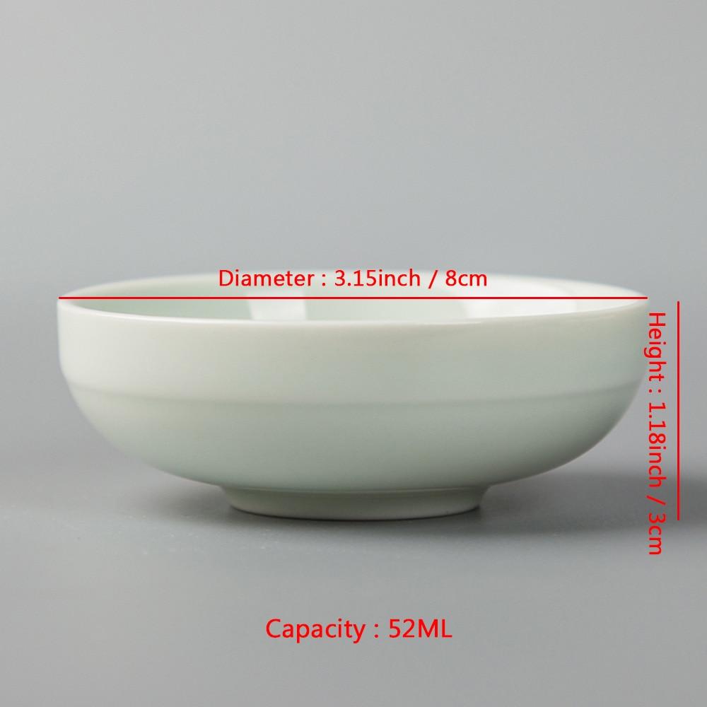 52ML Չինական Kung Fu Tea Cup Ceramic Hand ներկված - Խոհանոց, ճաշարան եւ բար - Լուսանկար 2