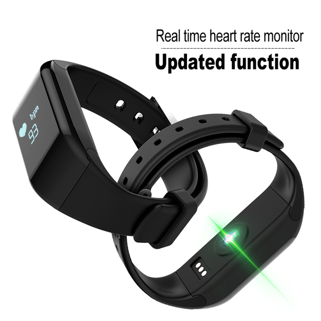 Smart Bracelet H3D Wristband Heart Rate Monitor Bluetooth 4.0 Passometer Sports Fitness Tracker Smartband For IOS Android
