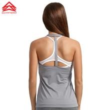 SYPREM Women Running Vest T - Back Dry And Light Training High Elastic Sports vest Brand Quality Vest,1FD0018