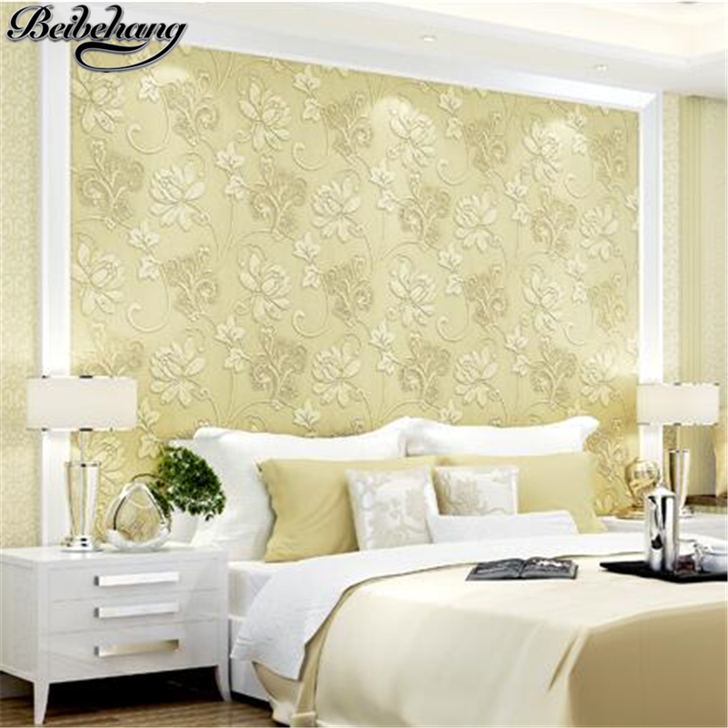 beibehang AB version of the European non-woven wallpaper bedroom rural modern 3D simple living room TV background wallpaper beibehang modern simple non woven geometric wallpaper living room bedroom cafe television background engineering 3d wallpaper