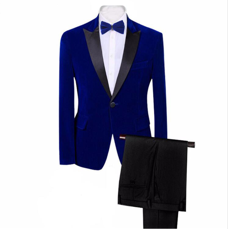 2019 New Fashion Style Gentleman 3 Pieces Set Fashion Casual Suit Business Wedding Suits For Men  Banquet Tuxedo Costume Homme
