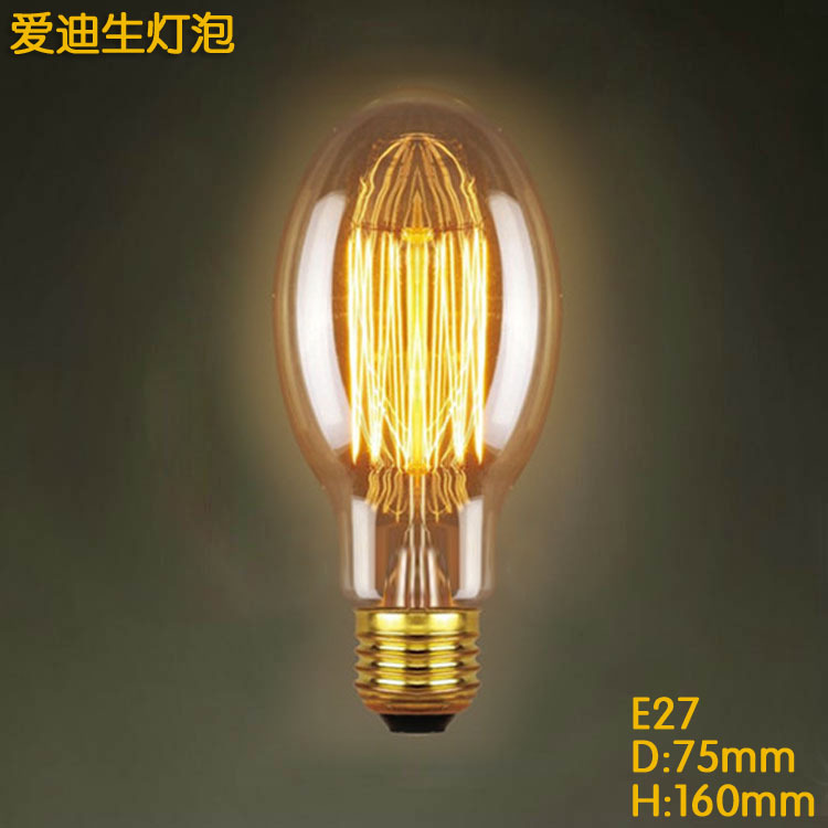 Ampoule Vintage E27 LED Edison Light Bulbs C75 40W Filament Led Home Lights Retro incandescen Lampe Led Bulb Energy Saving Lamp