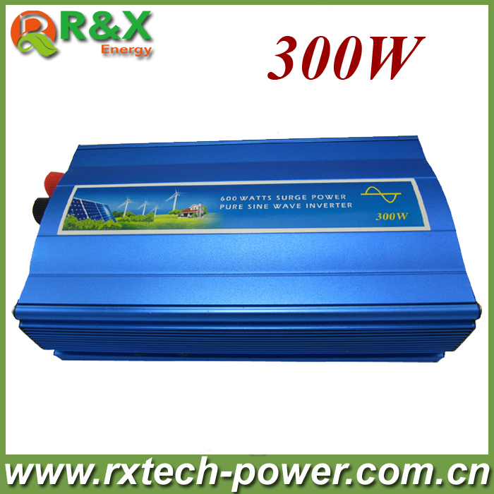 цена на 300W off grid inverter, pure sine wave inverter for solar and wind, 12V/24V DC to 100/110/120/220/230/240V AC.
