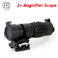 Holographic Red Dot Sight Scope 3x Magnifier Fits Aimpoint Sight With Flip To Side Picatinny Weaver