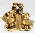B0601 421 Bronze kupfer dekoration kunsthandwerk dekoration liebe für alle jahreszeiten apotropaic Fabrik Kupfer Feng Shui handwerk statue-in Statuen & Skulpturen aus Heim und Garten bei