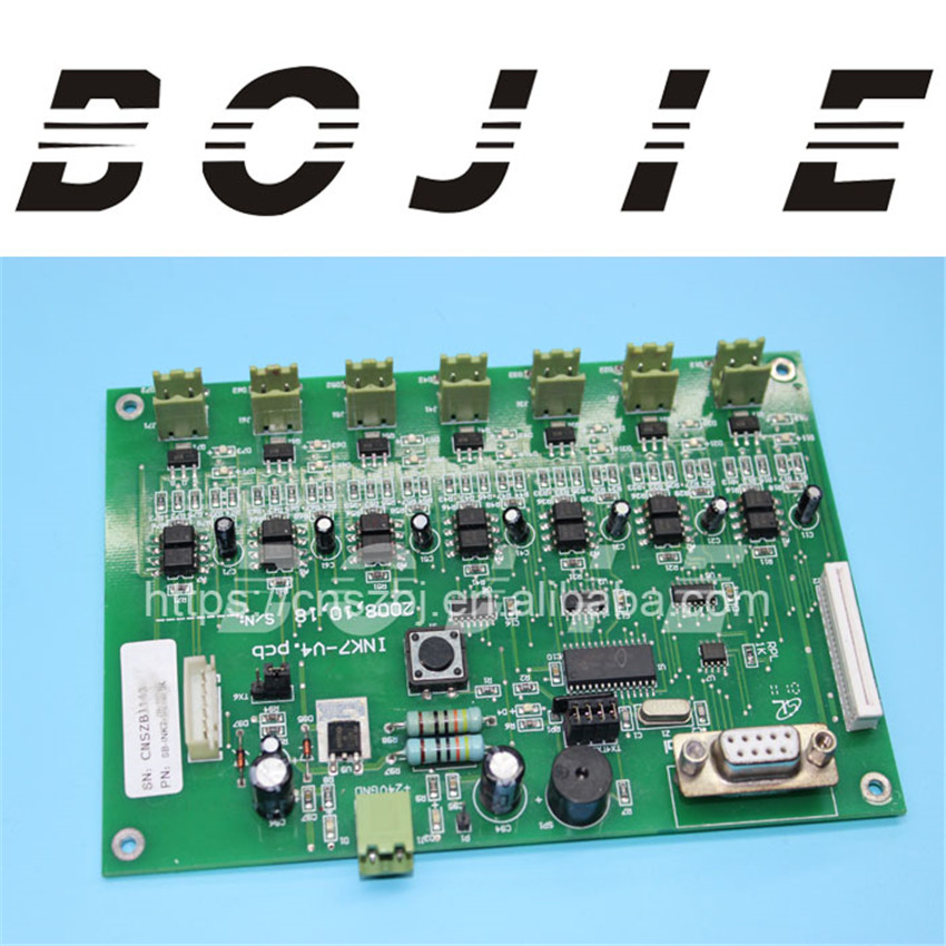 Printer wit color ultra 720t printing machine ink supply board