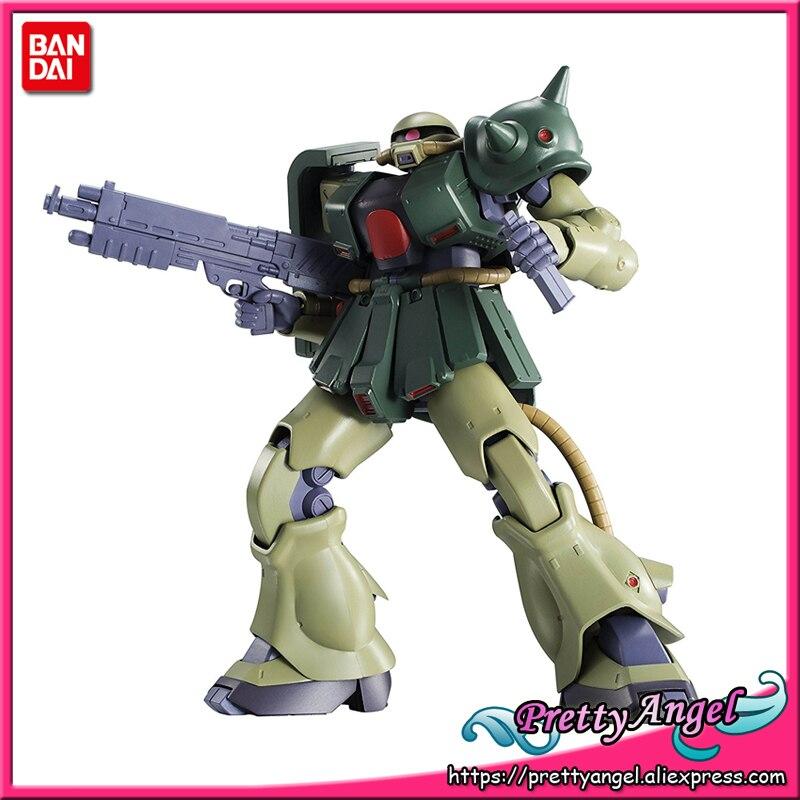 PrettyAngel - Genuine Bandai Robot Spirits No. 237 Mobile Suit Gundam 0080 MS-06FZ Zaku II Kai ver. A.N.I.M.E. Action Figure bob lolita cosplay charming capless brown short natural straight full bang synthetic wig for women