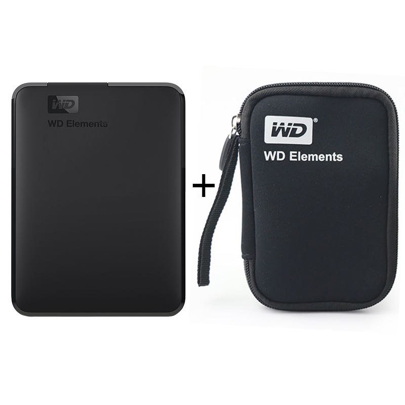 Western Digital WD elementos portátil hdd externo USB 2,5 USB 3,0 Disco Duro 500 GB 1 TB 2 TB 4 TB Original para PC portátil