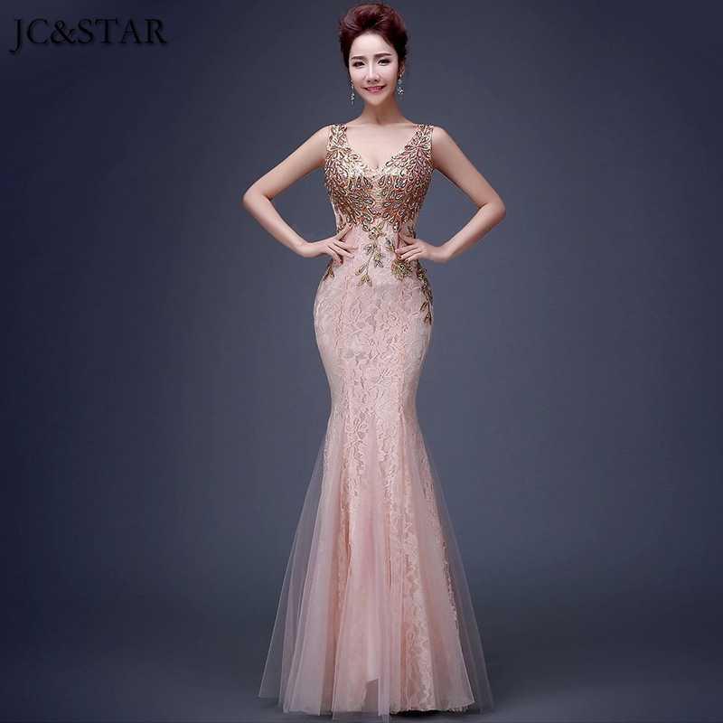 Jc Star Burgundy Mermaid Bridesmaid Dress Wedding Guest Dress Long Dresses For Wedding Party Beading Gown Dress