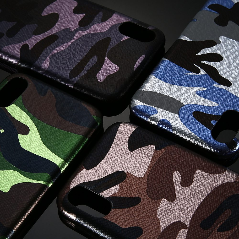 KISSCASE Case For iPhone X 8 7 6 Plus 5 5S SE Military Camouflage Back Cover For iPhone X 8 7 6 6S Plus Cases Army Phone Shells ...