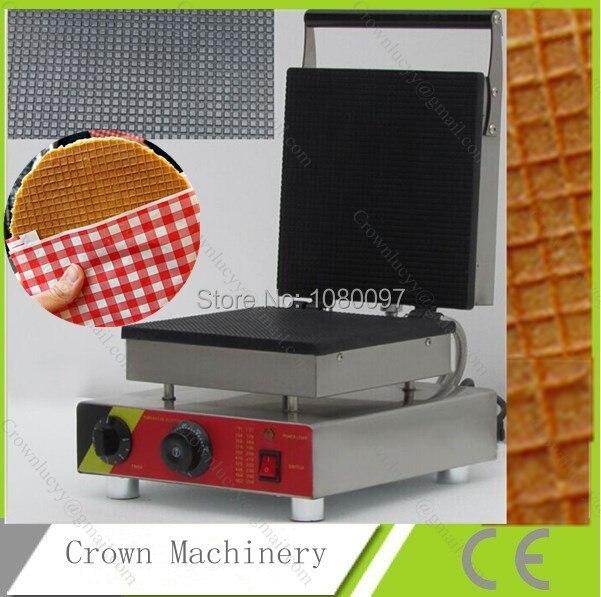 110v 220v waffle cone maker machine for saleice cream cone maker