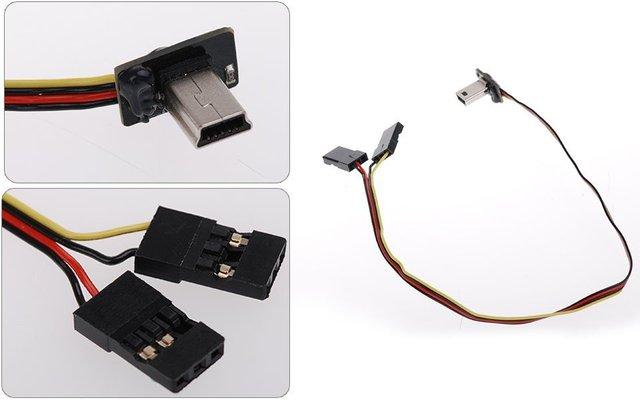 Av кабель phantom защита двигателей к дрону спарк комбо