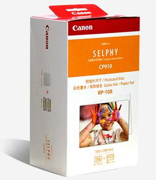 canon kp 108in color ink paper includes 108 ink pa - Canon Selphy Color Ink Paper Set