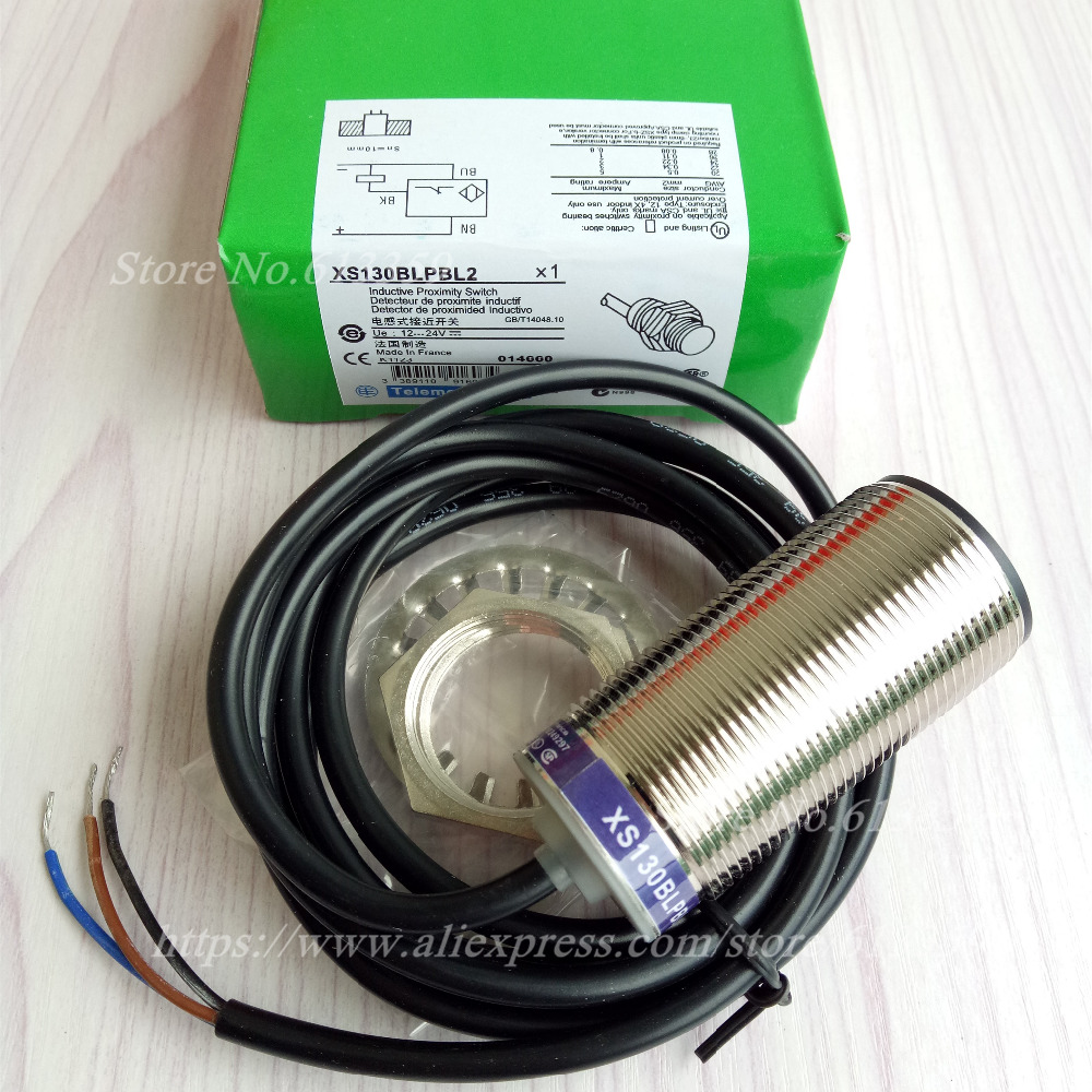 XS130BLPBL2 M30 Schneider PNP NC New  High Quality Proximity Switch Sensor Warranty For One YearXS130BLPBL2 M30 Schneider PNP NC New  High Quality Proximity Switch Sensor Warranty For One Year