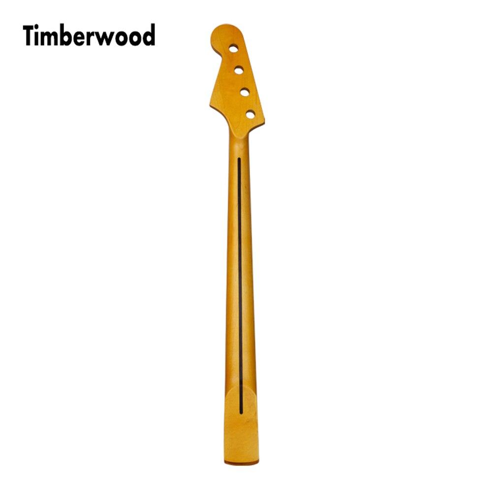 Remplacement de cou de guitare en bois de rose d'érable pour la finition Nitro en gros teinte vintage légèreQJ05