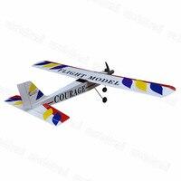 RC Plane Model Balsa Wood Nitro Trainer Airplane ARF 4CH Courage 10 59 4