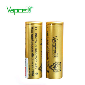 Image 4 - 2pcs VAPCELL INR21700 21700 battery 4000mAh rechargeable battery lithium battery 30A for Flashlights electronic power tools