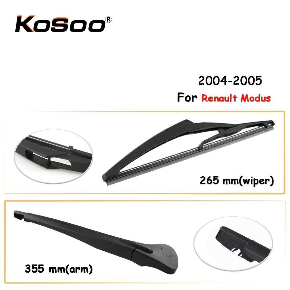 KOSOO Auto Rear Car Wiper Blade For Renault Modus,265mm